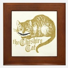 cheshire-cat_tr Framed Tile