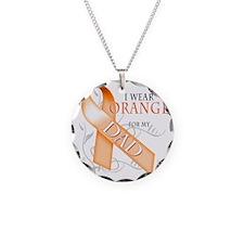 I Wear Orange for my Dad Necklace