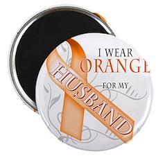 I Wear Orange for my Husband Magnet