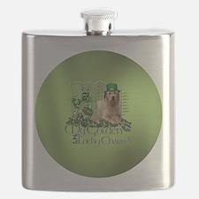 Golden_Lucky_Charm_Circle2 Flask