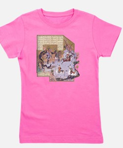 Persian Miniature 01 Girl's Tee