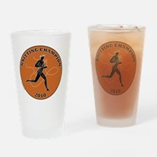 Medal Boxers Drinking Glass