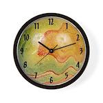 Marble Art Deco Wall Clock #3