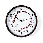 Baseball / Softball Wall Clock