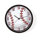 Softball / Baseball Team Wall Clock