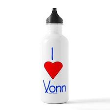 HeartVonn002 Sports Water Bottle