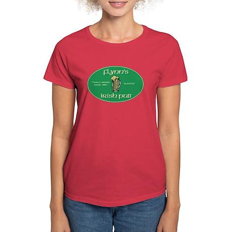 Flynn's Irish Pub Women's Dark T-Shirt