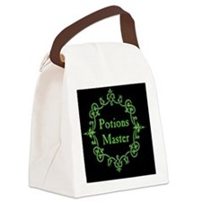 Potions Master, Small Black Canvas Lunch Bag