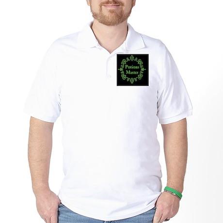 Potions Master, Small Black Golf Shirt