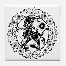 SheepB1 Tile Coaster