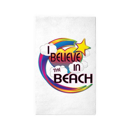 I Believe In The Beach Cute Believer Design 3'x5'