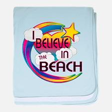 I Believe In The Beach Cute Believer Design baby b