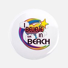 """I Believe In The Beach Cute Believer Design 3.5"""" B"""