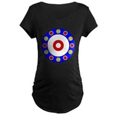 Curling Clock 8x8 T-Shirt