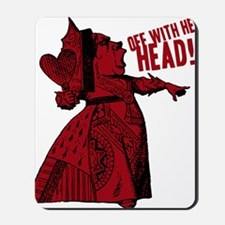 off-with-her-head-vintage_dark Mousepad