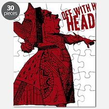 off-with-her-head-vintage_dark Puzzle