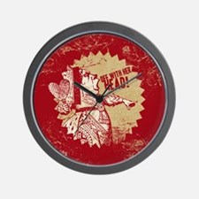 off-with-her-head-vintage_b Wall Clock