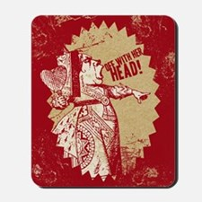 off-with-her-head-vintage_13-5x18 Mousepad