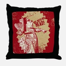 off-with-her-head-vintage_13-5x18 Throw Pillow