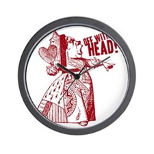 off-with-her-head-vintage_light Wall Clock