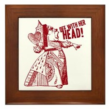 off-with-her-head-vintage_light Framed Tile
