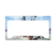 wrogers mini poster License Plate Holder