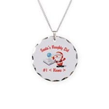 Personalized Santa's Naughty List Necklace