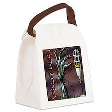 radio 255555 Canvas Lunch Bag