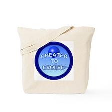 2-C.T.E.2-Round.Magnet-blue Tote Bag