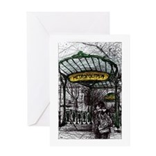 Montmartre 1 Greeting Card