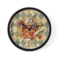 white-rabbit-vintage_13-5x18 Wall Clock
