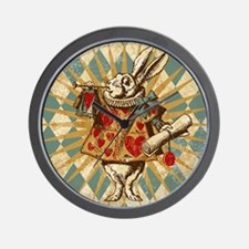 white-rabbit-vintage_13-5x18 Wall Clock