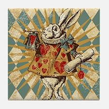 white-rabbit-vintage_13-5x18 Tile Coaster