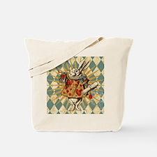 white-rabbit-vintage_13-5x18 Tote Bag