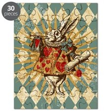 white-rabbit-vintage_13-5x18 Puzzle