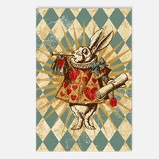 white-rabbit-vintage_13-5 Postcards (Package of 8)