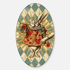 white-rabbit-vintage_13-5x18 Decal