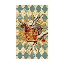 white-rabbit-vintage_13-5x18 Decal