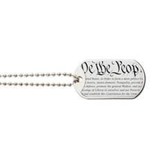 U.S.-Constitution-(white-shirt) Dog Tags