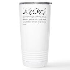 U.S.-Constitution-(white-shirt) Travel Mug