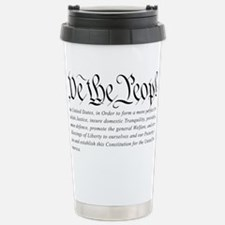 U.S.-Constitution-(white-shirt) Travel Mug