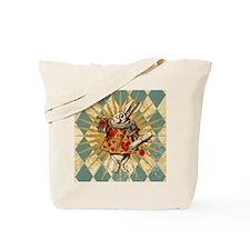 White Rabbit Vintage Tote Bag