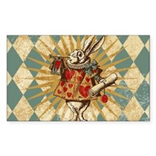 White Rabbit Vintage Decal