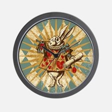 White Rabbit Vintage Wall Clock