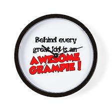 Grampa Wall Clock
