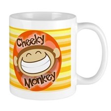 Cheeky Monkey Wide Mug