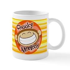 Cheeky Monkey Wide Small Mug