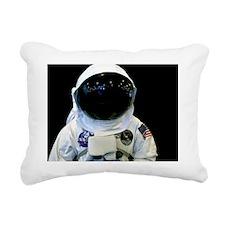 (6) Astronaut 1b Rectangular Canvas Pillow