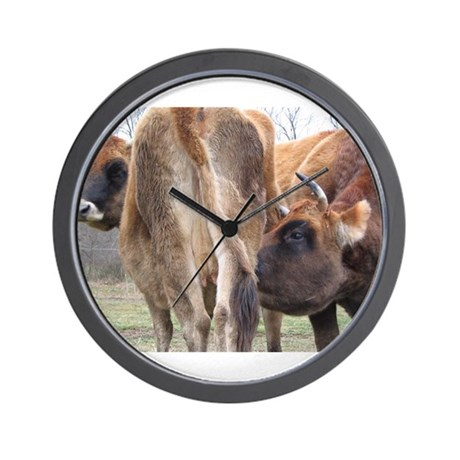 COW PROTECTION Wall Clock