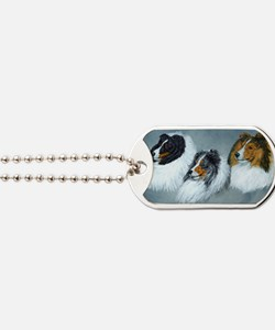 Sheltie Headstudies Dog Tags